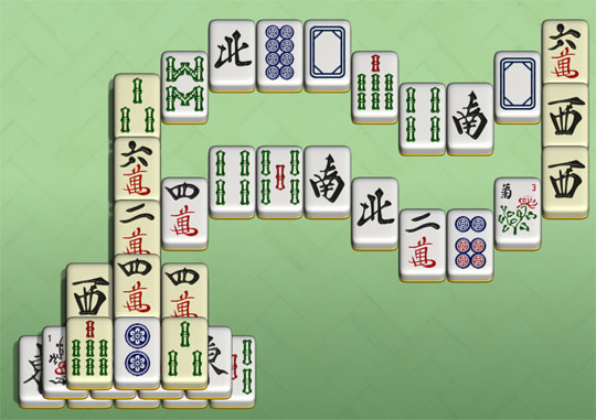 Flag Level in Redstone Mahjong