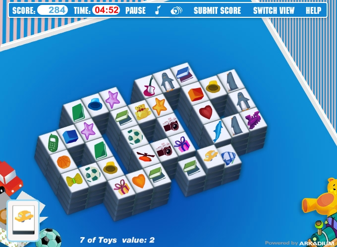 Play Mahjongg Toy Chest : Mahjong toy games free