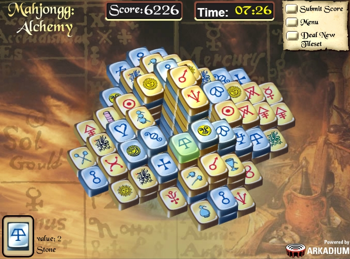 mahjong alchemy full screen