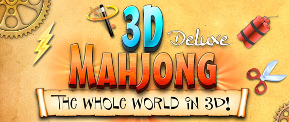 3D Mahjong Deluxe - Enjoy a stunning Mahjong game presented in beautiful 3D.