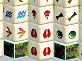 Mahjongg Dimensions Deluxe: Tiles in Time Early Level