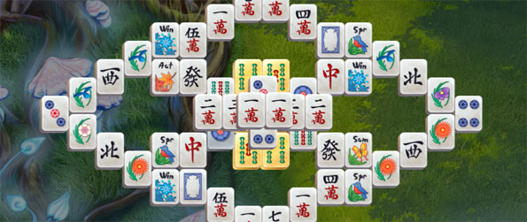 Mahjon Magic Journey - Enjoy a fun Mahjong game full of amazing patterns.