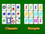 Choose modes in Mahjongg