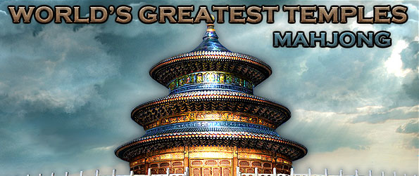 World's Greatest Temples Mahjong - Visit sacred destinations across the world as you beat the levels of this wonderful new Mahjong game.