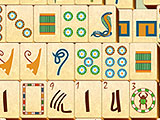 Egyptian Themed Layout and Tiles in Mahjong Duels
