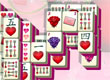 Valentine's Day Mahjong game