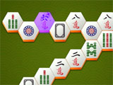 Mahjong Wonders Hexa Match 'Z' shaped design